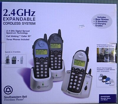 Sw Bell Freedom Phone2.4Ghz Expandable Cordless System