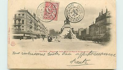 26* VALENCE   monument Augier