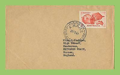 Australia (Antarctic) 1964 ANNARE Mawson cover with 5d  stamp to UK