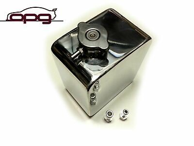 Polished Alloy Radiator Overflow Recovery Tank Holden Hq Hj Hx Hz Wb
