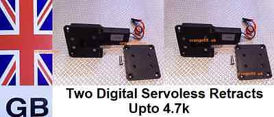 Pair of Digital Servoless Plane Retracts - Retractable System - Upto 4.7KG - X 2
