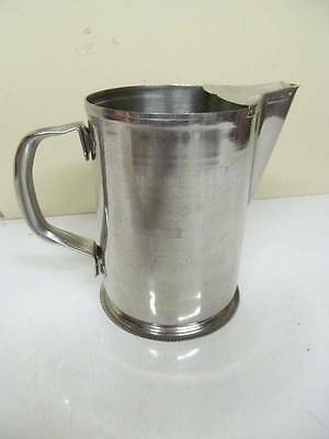 2Qt Vollrath 46402 Commercial Stainless SS Serving Drink Water Milk Pitcher