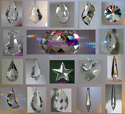 Sun catcher Hanging Window Crystal Feng Shui Mobile Rainbow Prism Wind chime