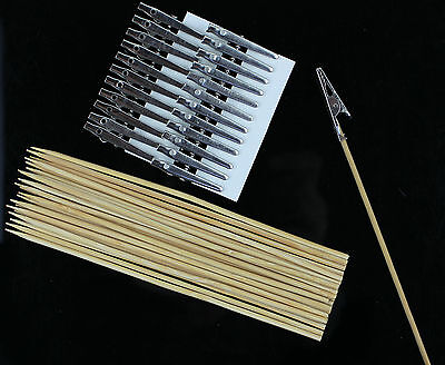 Painting Clips Stand Alligator Clip Set (24 pcs) Modeling OOAK Tools