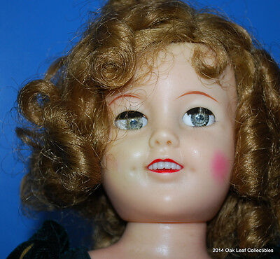 Vintage 1950's Ideal Shirley Temple Doll 17 Inch ST-17-1