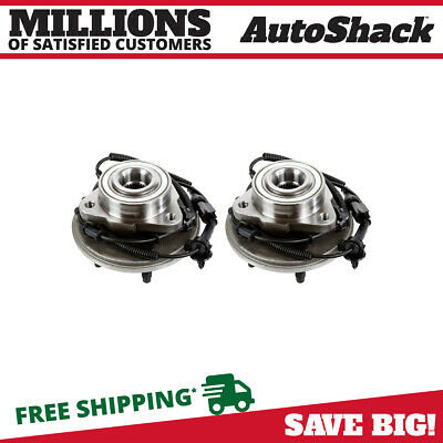 Front Pair (2) Wheel Hub Bearing Assembly For 2002-2004 2005 Ford Explorer w/ABS