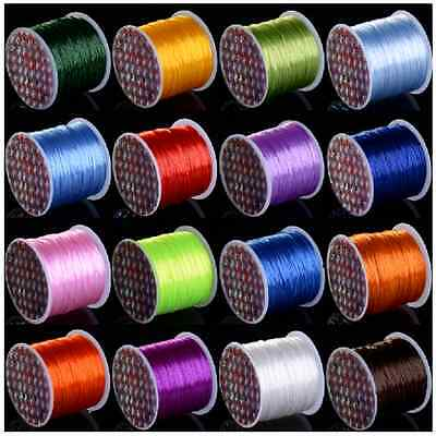 Elastic Stretch String Thread Cord For Jewelry Bracelet Beads Making Repair 10M