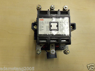 Abb Eh80 Contactor 3 Pole 600V With Auxiliary Contact