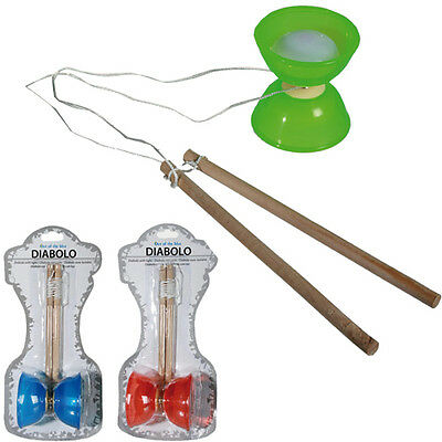 Diabolo Juggling Spinning String Kit With Lights Toy Kids Outdoor Fun Gift New