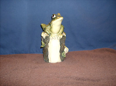 Large Frog On A Log -  A    TO13126