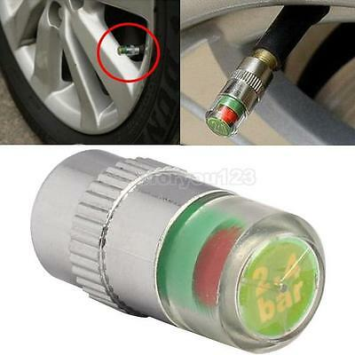 Monitor Car Tire Air Pressure Valve Stem Cap Sensor Safefy Eye Alert Indicator