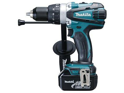 Makita DHP458RFE 18v LXT Combi Drill Kit 2 x 3.0ah Li-ion