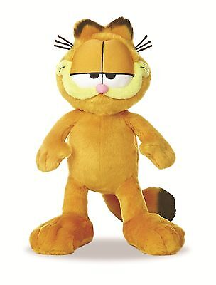 """NEW OFFICIAL LICENSED 14"""" GARFIELD THE CAT AURORA PLUSH CUDDLY SOFT TOY TEDDY"""