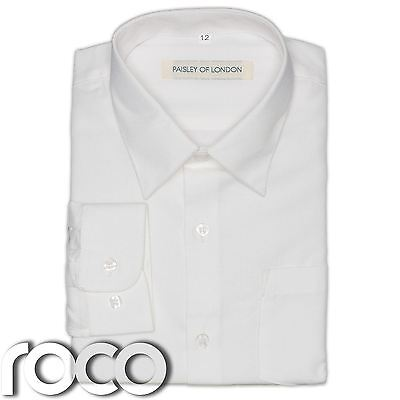Boys Ivory Shirt, Boys Formal Wear, Boys Wedding Shirt, Prom Shirts