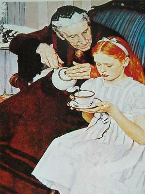 Vintage Norman Rockwell The Handkerchiefs Print 12412