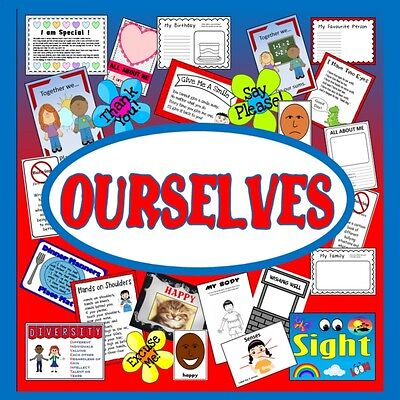 Cd Ourselves All About Me Teaching Resources Key Stage 1-2 Eyfs Topic Family Etc