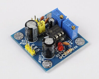 NE555 Duty Cycle and Frequency Adjustable Module Square Wave generator