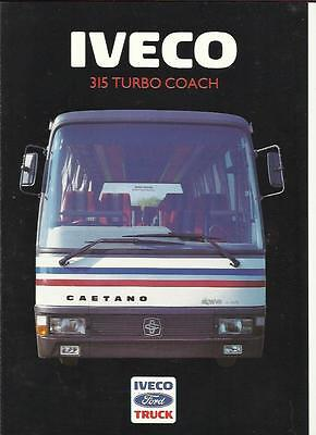 Iveco Ford 315 Turbo Coach Sales Brochure 1986