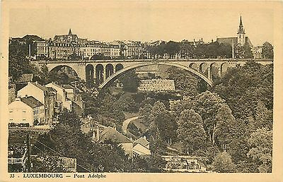 LUXEMBOURG pont adolphe