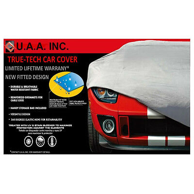 UAA Gray Fitted Indoor Outdoor High Quality Car Cover  for FORD MUSTANG