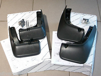 Genuine VW Polo 2014 Onwards Mudflaps Full Set BRAND NEW Front & Rear Mud Flaps