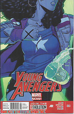 Marvel Young Avengers comic issue 3