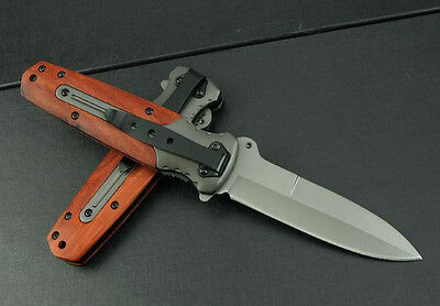 Knife Assisted Opening Saber Xmas Gift Super steel Camping Hunting Tool k209-w