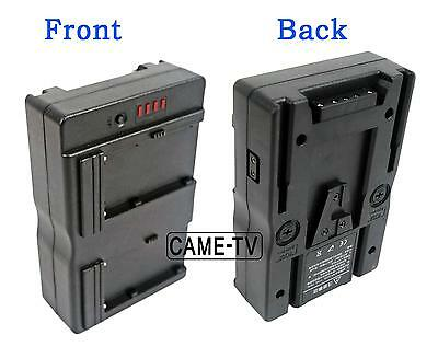 V Mount Battery Converter Plate Adapter - Put NP-F Battery, Use as BP Battery