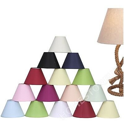 Coolie Hanging Ceiling Table Lamp Light Shade Plain Colour Lampshade