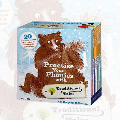 Practise Your Phonics with Traditional Tales Box Set 20 Book Oxford Reading Tree