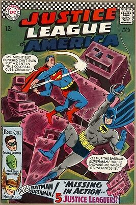 Justice League Of America #52 - VF