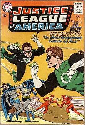 Justice League Of America #30 - FN-