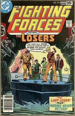 Our Fighting Forces #179 - VG/FN