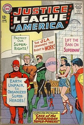 Justice League Of America #28 - VG