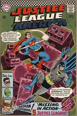 Justice League Of America #52 - VG/FN