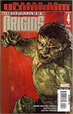 Ultimate Origins #4 - NM- - Maleev Cover
