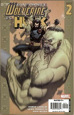 Ultimate Wolverine Vs. Hulk #2 - NM - 1st Print