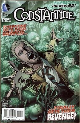 Constantine #6 - VF/NM - New 52