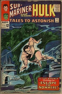 Tales To Astonish #71 - G/VG