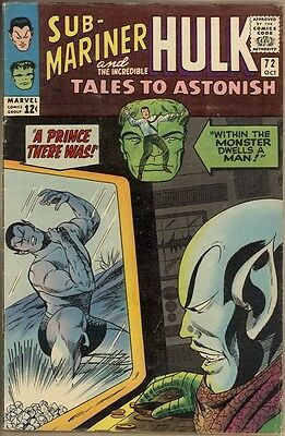Tales To Astonish #72 - VG/FN