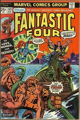 Fantastic Four #149 - VF+