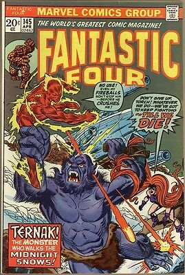 Fantastic Four #145 - FN/VF