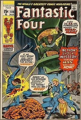 Fantastic Four #108 - VF