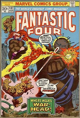 Fantastic Four #137 - FN/VF