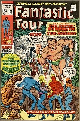Fantastic Four #102 - VF