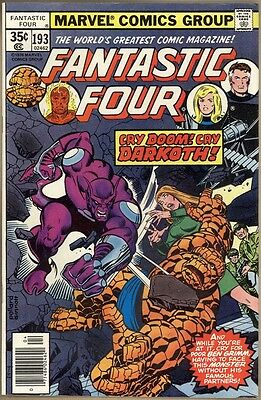 Fantastic Four #193 - FN/VF