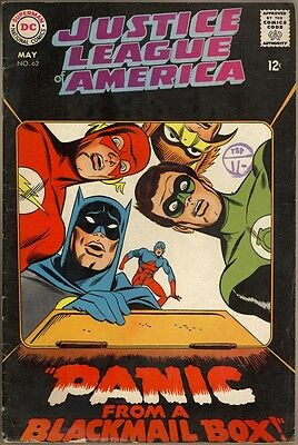Justice League Of America #62 - VG-