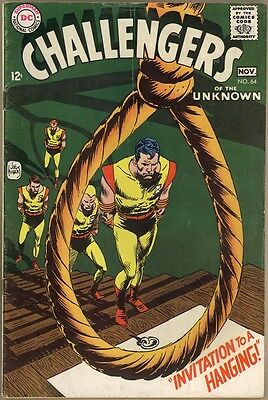 Challengers Of The Unknown #64 - VG