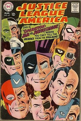 Justice League Of America #61 - FN