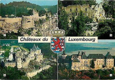 Cp Luxembourg Chateaux Multivues - 15585